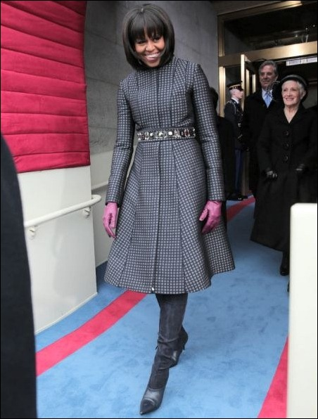 The First Lady, Michelle.